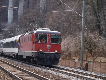 Führerstandsfahrt am Gotthard